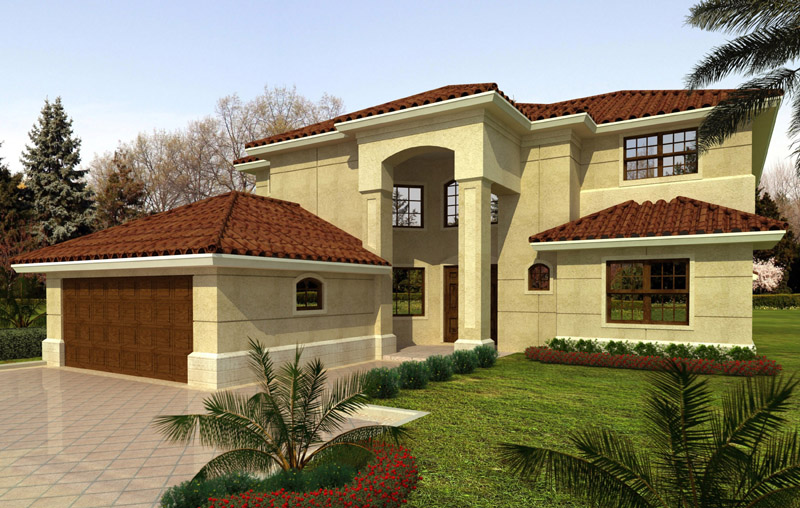 Home plans detail for Double storey house plans in south africa